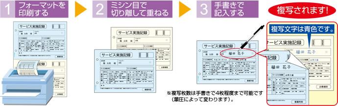 レーザやコピー機でオリジナルの複写帳票が作成できる!~マルチ ...